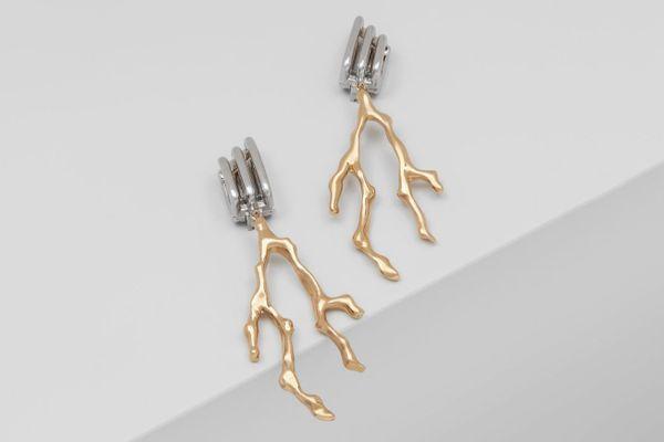 Bonnie Coral Branch Earrings