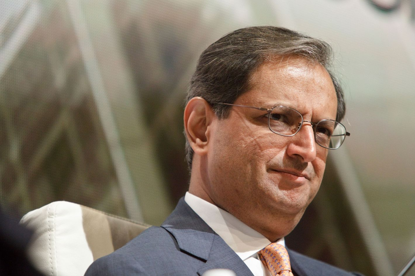 23 Jun 2010 --- Vikram Pandit, CEO of Citigroup, speaking on day two of the New York Forum in New York City.