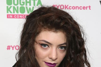 "NEW YORK, NY - NOVEMBER 11:  Singer Lorde attends VH1 ""You Oughta Know In Concert"" 2013 on November 11, 2013 at Roseland Ballroom in New York City.  (Photo by Neilson Barnard/Getty Images)"