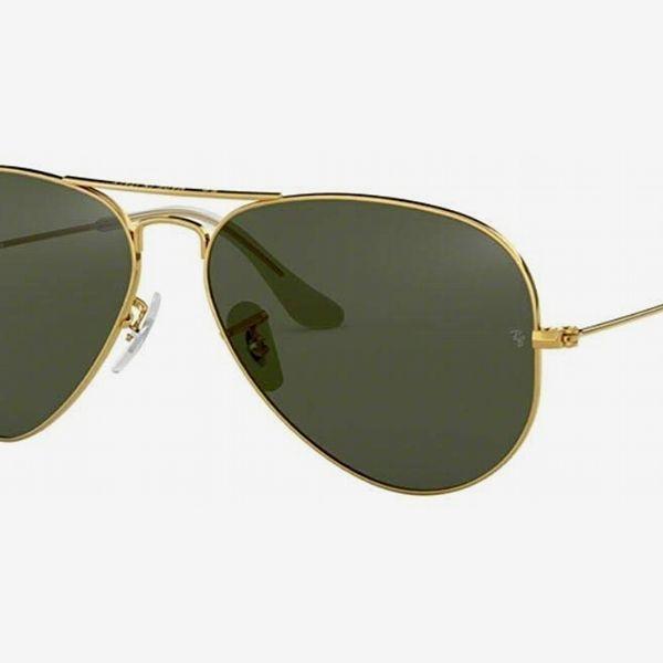 Ray-Ban RB3025 Aviator Large Metal Non-Polarized Sunglasses