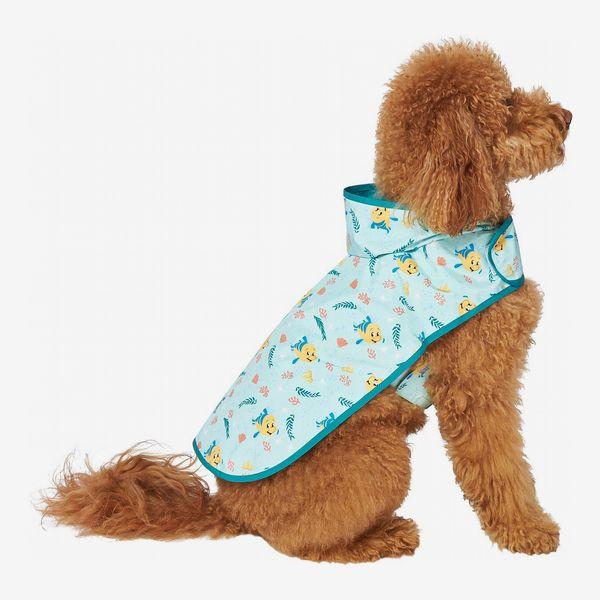 Disney Flounder Print Dog & Cat Raincoat