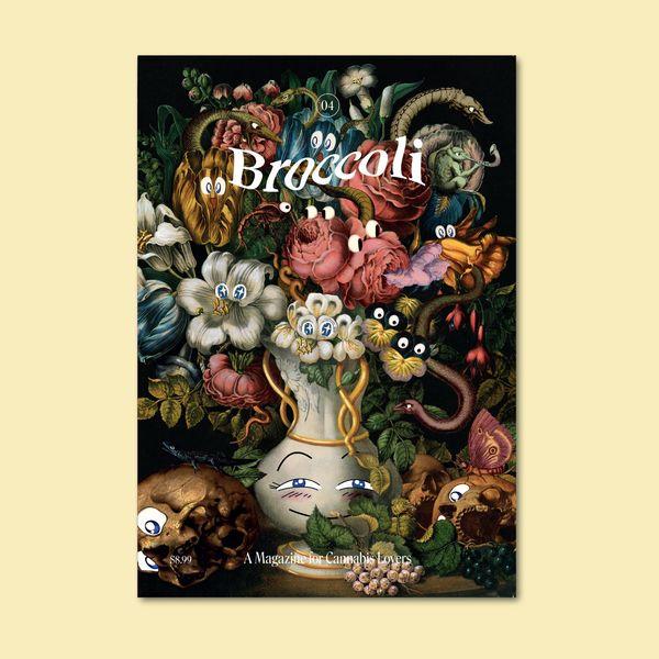 'Broccoli' Magazine Annual Subscription
