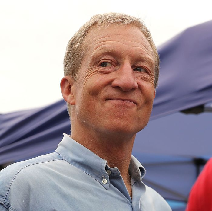 Tom Steyer >> Tom Steyer Bought a 'Grassroots Campaign' for $10 Million