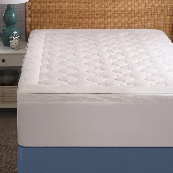 Allied Essentials Serenity Cool Sleep Mattress Pad, Queen