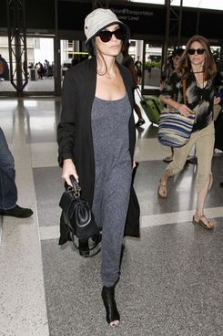 Demi Moore seen at LAX Airport