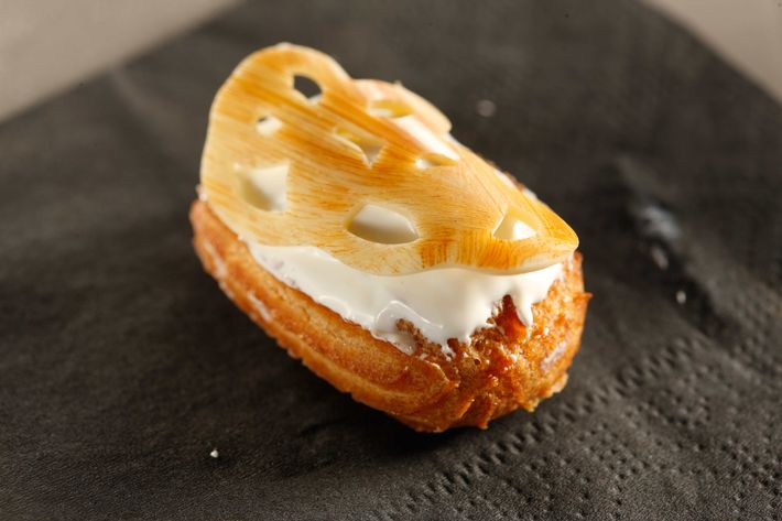 The Back Room: Signature eclairs.