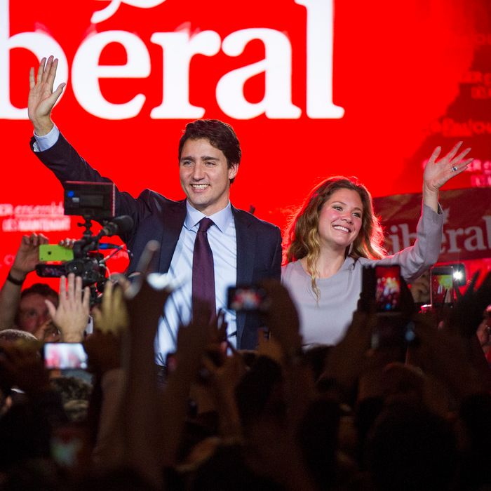 Inside The Liberal Party of Canada Leader Justin Trudeau Camp On Election Night