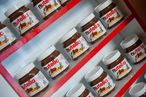 The shop currently houses about 150 kilos of of Italian Nutella.