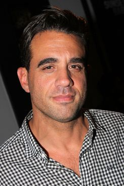 "NEW YORK, NY - OCTOBER 03:  Bobby Cannavale poses backstage at ""Eric Bogosian's 100 Monologues"" at The Bank Street Theater on October 3, 2013 in New York City.  (Photo by Bruce Glikas/FilmMagic)"