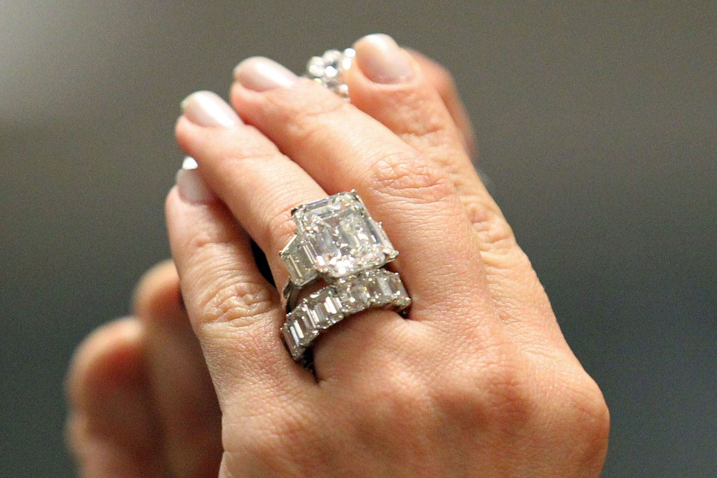 Kim Kardashians Cursed Engagement Ring for Sale