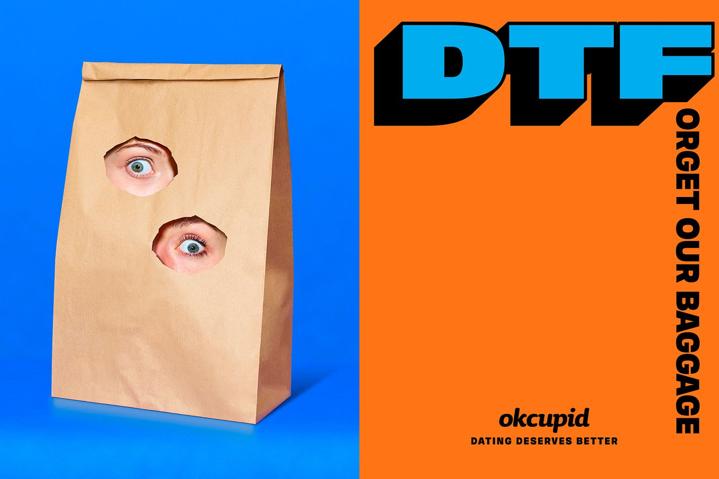OkCupid Redefines 'DTF' in New York City Subway Ads