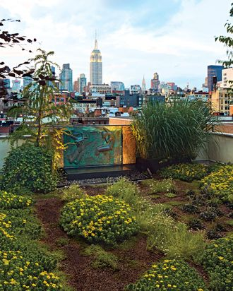 Tour A New York City Rooftop Garden Inspired By The French Alps