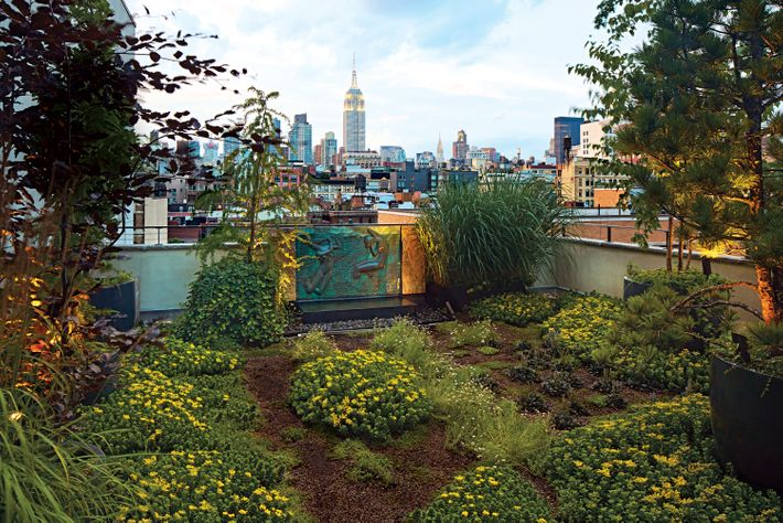 Tour A NYC Rooftop Garden Inspired By The French Alps - Rooftop landscaping