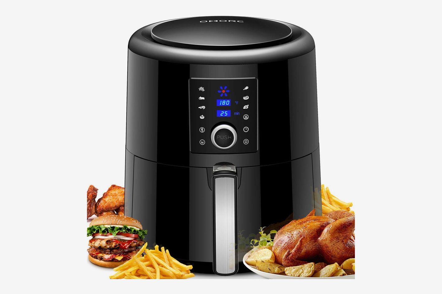 1e43c1a572dc3 SimpleTaste electric air fryer black