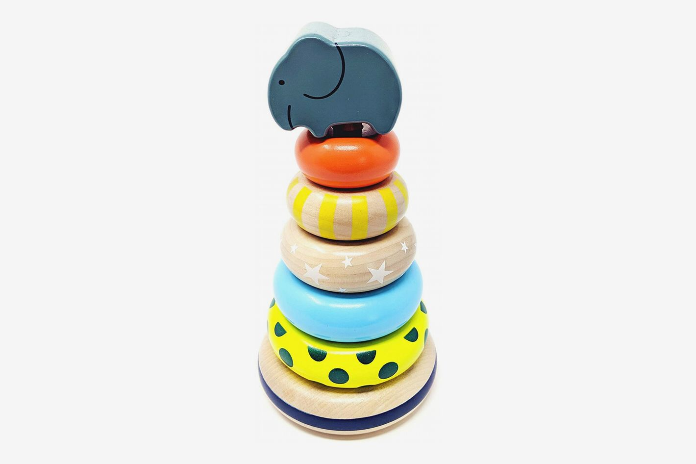 Rainbow Stacker Rings Toy
