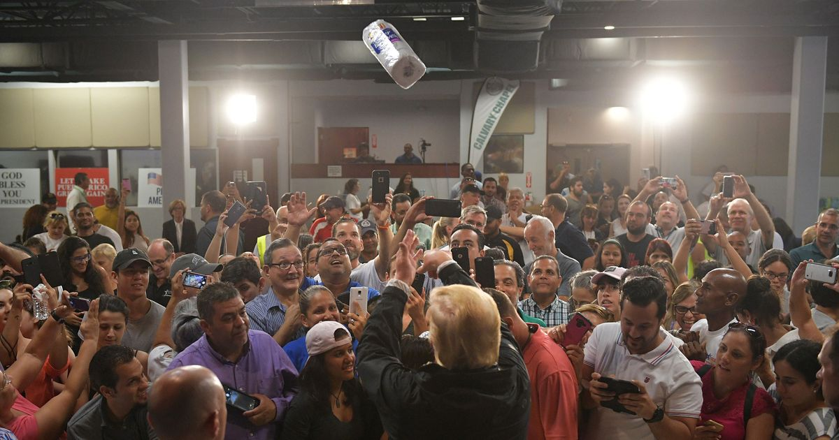 Trump: Democrats Faked 3,000 Hurricane Deaths in Puerto Rico to Make Me Look Bad