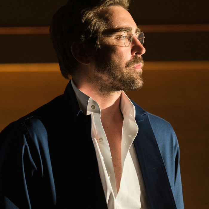 Lee Pace as Joe Macmillan - Halt and Catch Fire _ Season 3, Episode 1 - Photo Credit: Tina Rowden/AMC