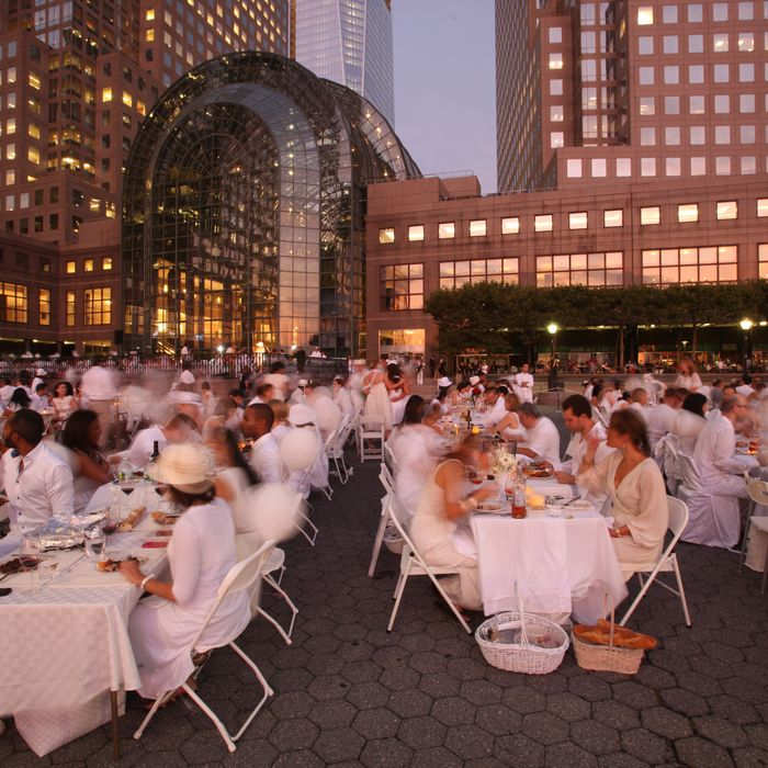 Making everyone wear white revealed a softer side of New York.