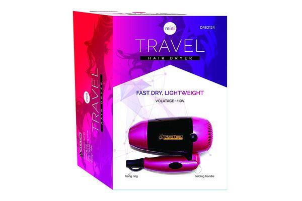 J2 Hair Tool Mini Travel Hair Dryer