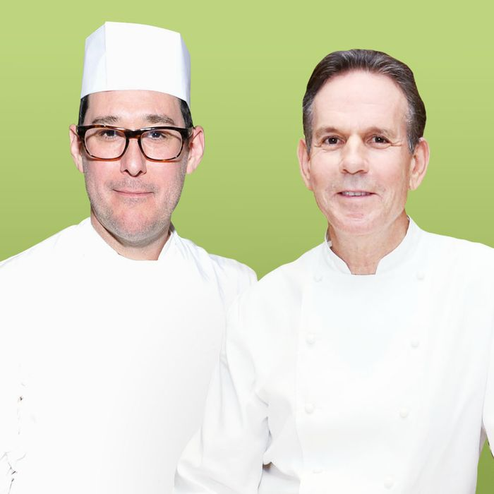 Mark Ladner and Thomas Keller.
