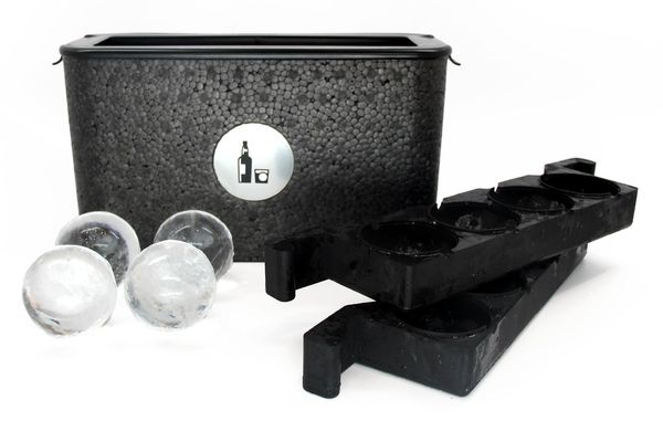 Wintersmiths IC-S Ice Chest - Crystal-Clear Ice Ball Maker