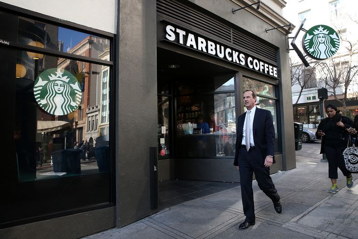 Just imagine living near a Starbucks across from a Starbucks.