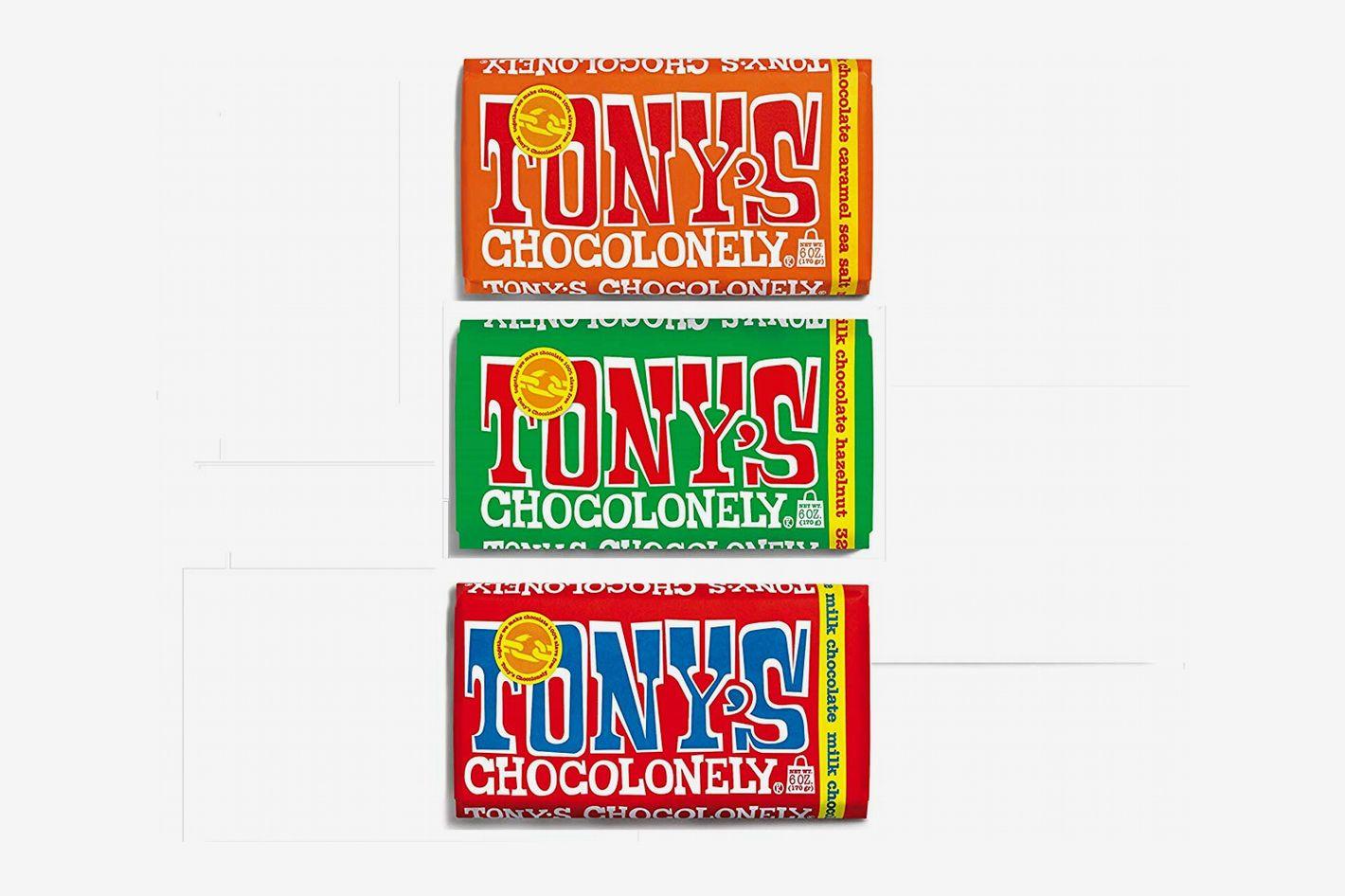 Tony's Chocolonely Milk Chocolate Bundle