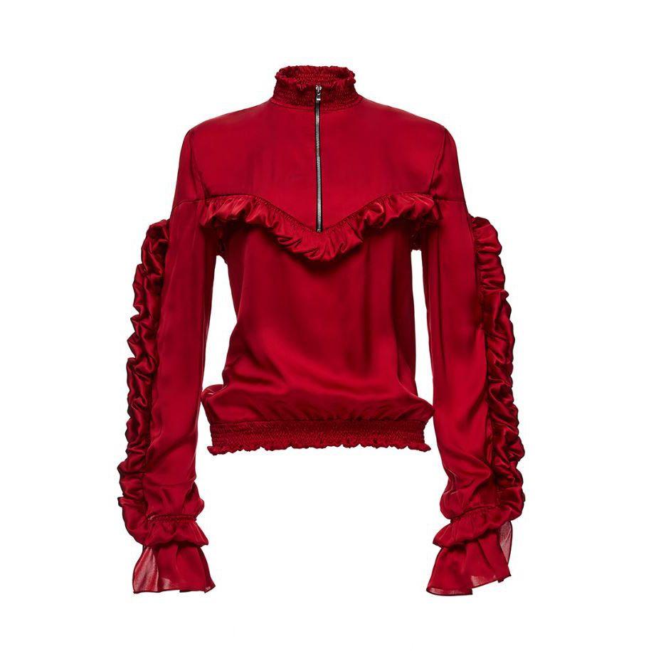 Magda Butrym Granada ruffled blouse