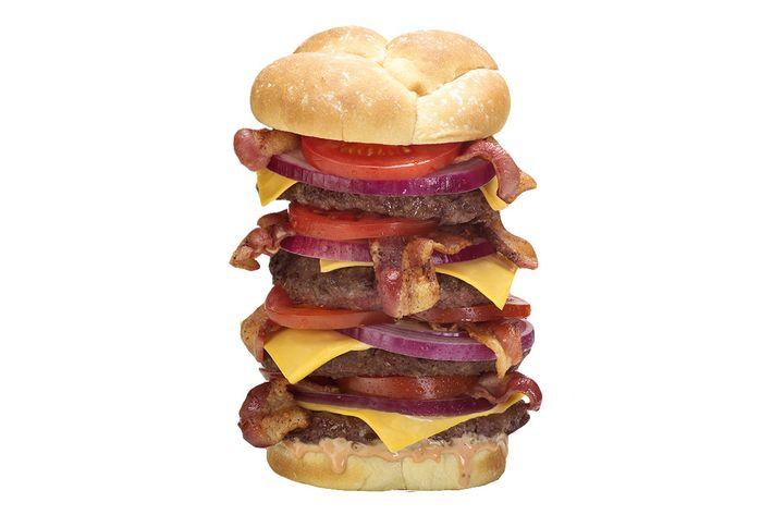 The Quadruple Bypass Burger.