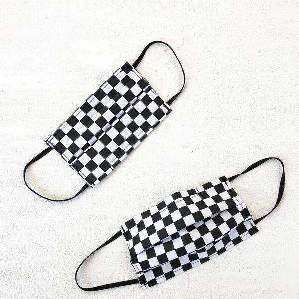 Primecut Checkered Cotton Face Mask