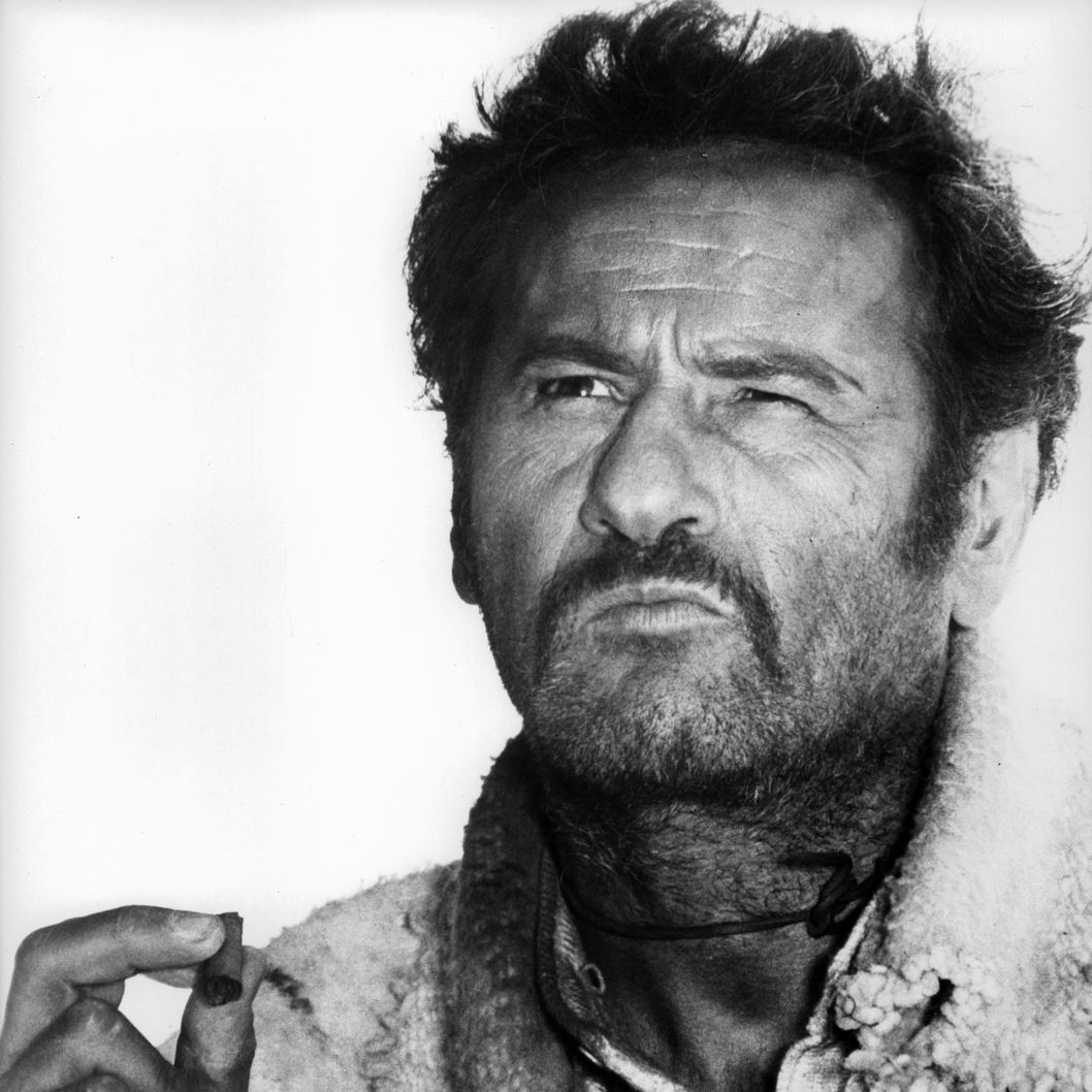 Eli Wallach is a Mexican gunman in search of $200,000 in a scene from the film 'The Good, The Bad And The Ugly', 1966. (Photo by United Artists/Getty Images)