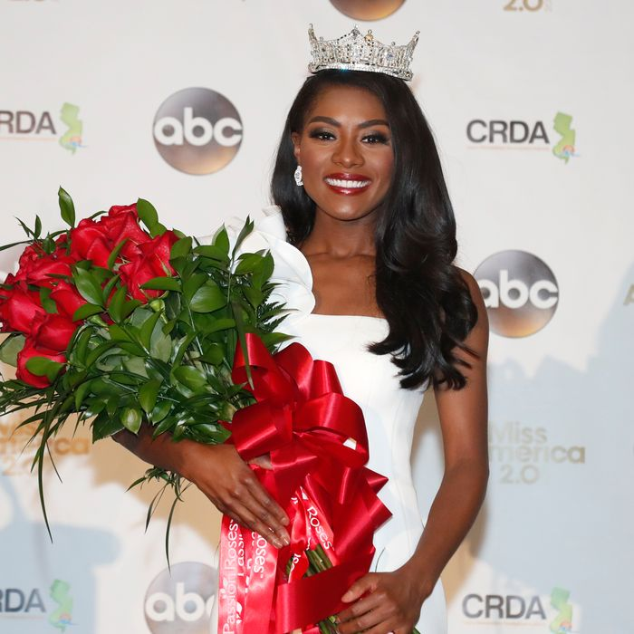 2019 Miss America Nia Franklin.
