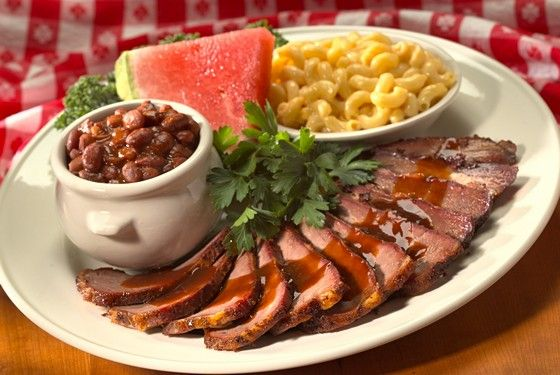 "<a href=""http://lucillesbbq.com/"">Lucille's Smokehouse BBQ</a> <br><i>2245 Village Walk Dr., Henderson; 702-257-7427</i><br>Heidi Knapp Rinella, the restaurant critic for the Las Vegas <i>Review-Journal</i>, says she heads to West Coast–based chain Lucille's Smokehouse when she's on the search for Central California's most famous cut in Las Vegas. ""All of the barbecue joints in the Las Vegas Valley smoke brisket and ribs and the like, but Lucille's may be the only one that serves smoked tri-tip, a meaty cut with lots of beefy flavor,"" the critic says. ""Have your tri-tip with one or all of Lucille's crispy fried triumvirate — green tomatoes, pickles, or okra. You'll be in barbecue heaven."""