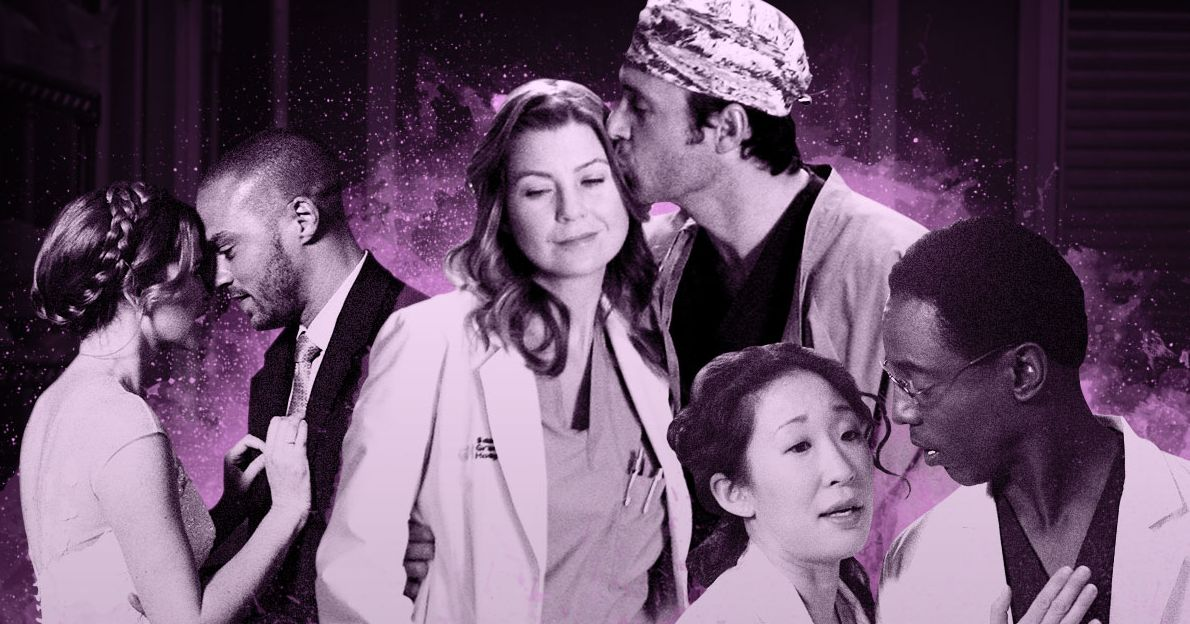 Greys Anatomy Every Couple Ranked From Worst To Best