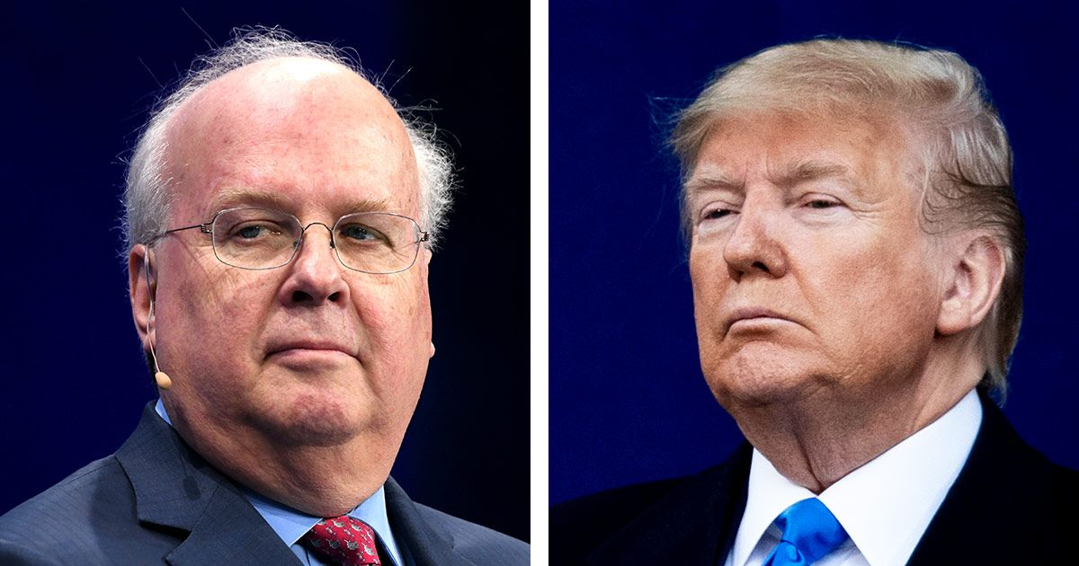 Trump's Impeachment Defense Lifts an Old Karl Rove Strategy
