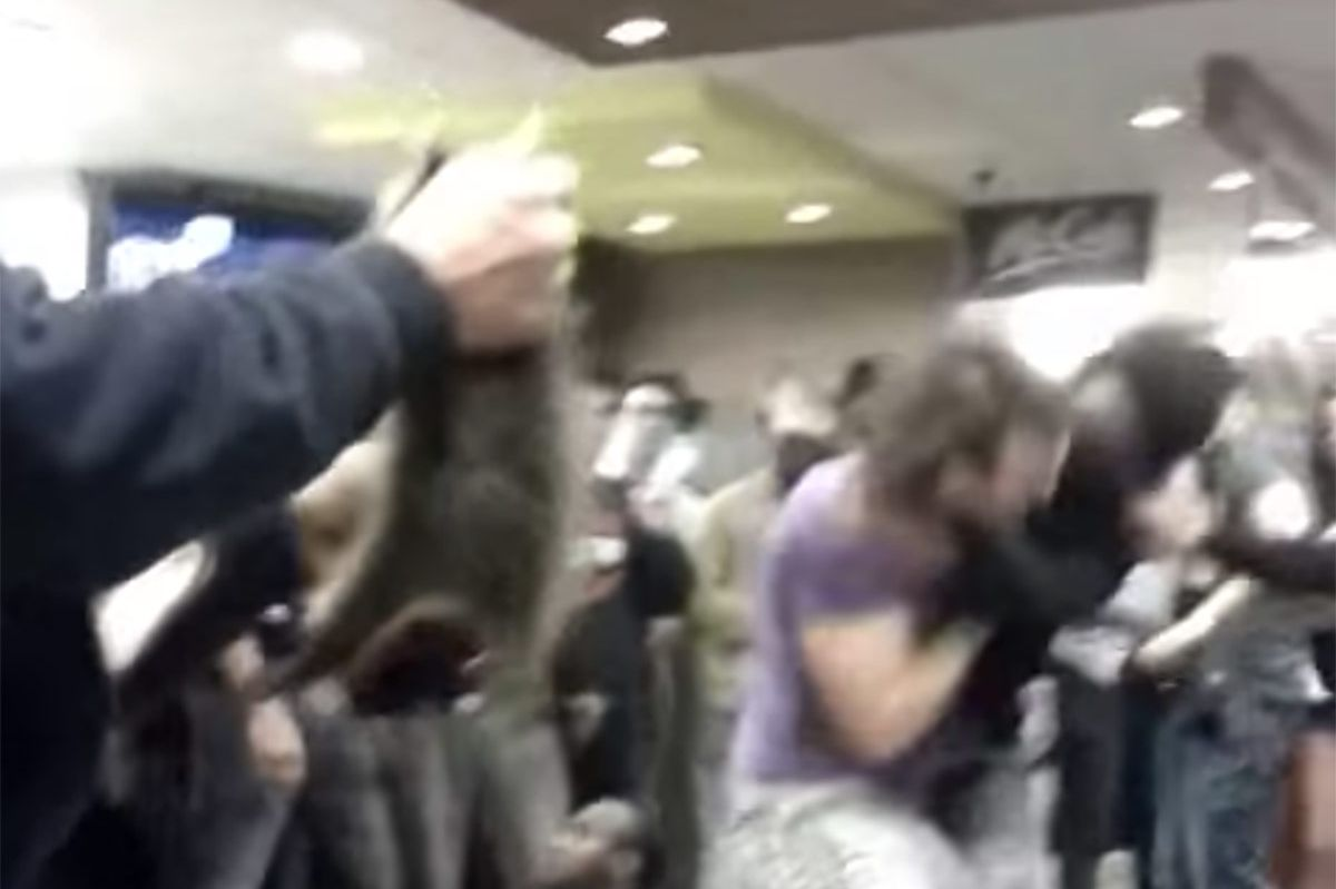 man whips out live raccoon in canadian mcdonald s fistfight