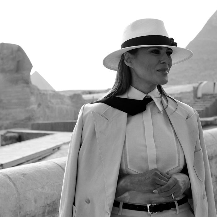 The Hotel Bill for Melania Trump's One-Day Cairo Visit Was $95,000