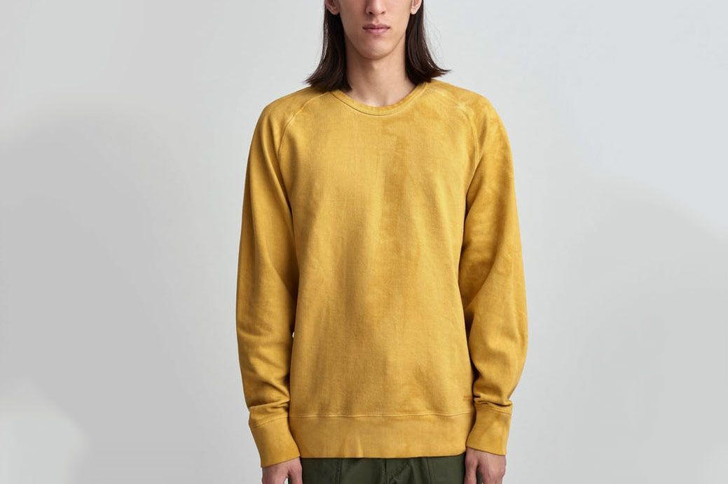 Saturdays NYC Simon Crewneck Sweatshirt Dusty Amber