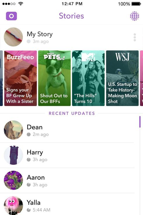 Snapchat Updates Live Stories With Publishers As Friends