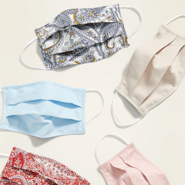 Old Navy Triple-Layer Cloth Face Masks