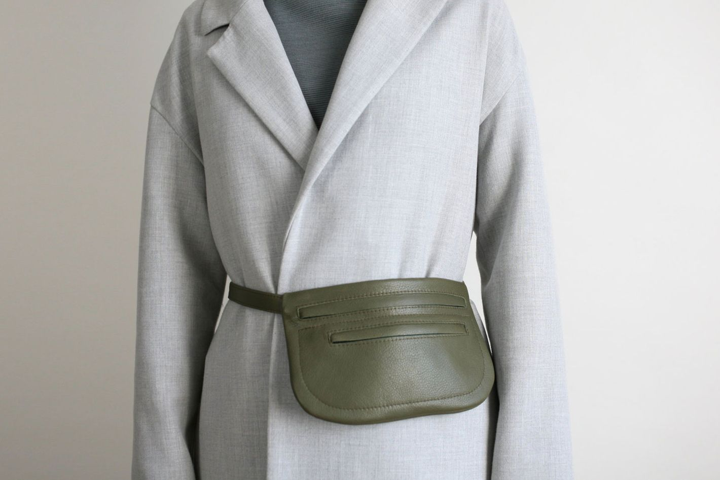 Olive Green Fanny Pack
