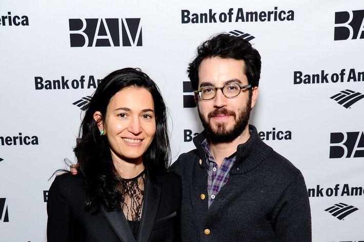 (L-R) Nicole Krauss and Jonathan Safran Foer attend the 2014 BAM Theater gala at Skylight One Hanson on February 6, 2014 in New York City. NEW YORK, NY - FEBRUARY 06: (L-R) Nicole Krauss and Jonathan Safran Foer attend the 2014 BAM Theater gala at Skylight One Hanson on February 6, 2014 in New York City.  (Photo by Rommel Demano/Getty Images)