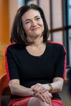 Sheryl Sandberg.
