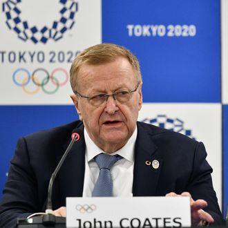International Olympic Committee member John Coates.