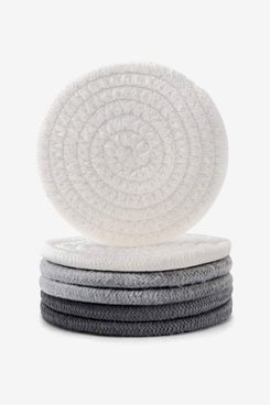 Coomin Vintage Woven Coasters (Set of 6)