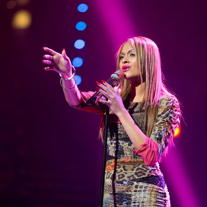 AMERICAN IDOL: Breanna Steer performs in front of the judges on AMERICAN IDOL airing live Tuesday, March 5 (8:00-10:00PM ET/PT) on FOX.