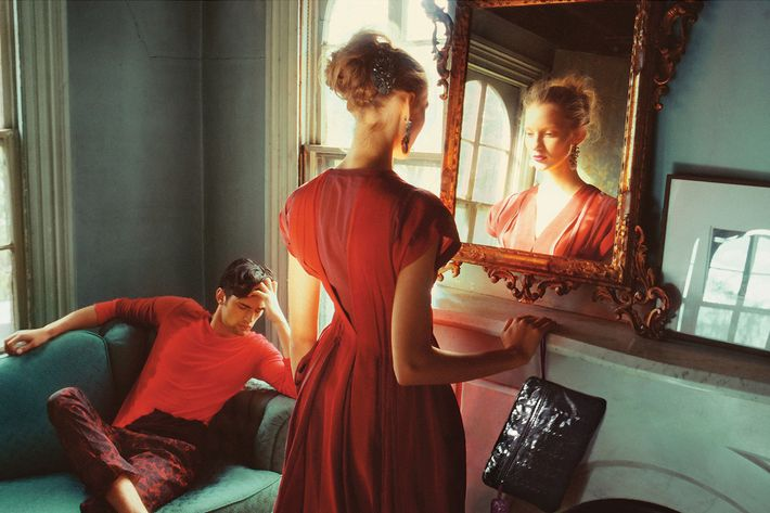 Bottega Veneta's spring/summer 2010 campaign, shot by Nan Goldin.