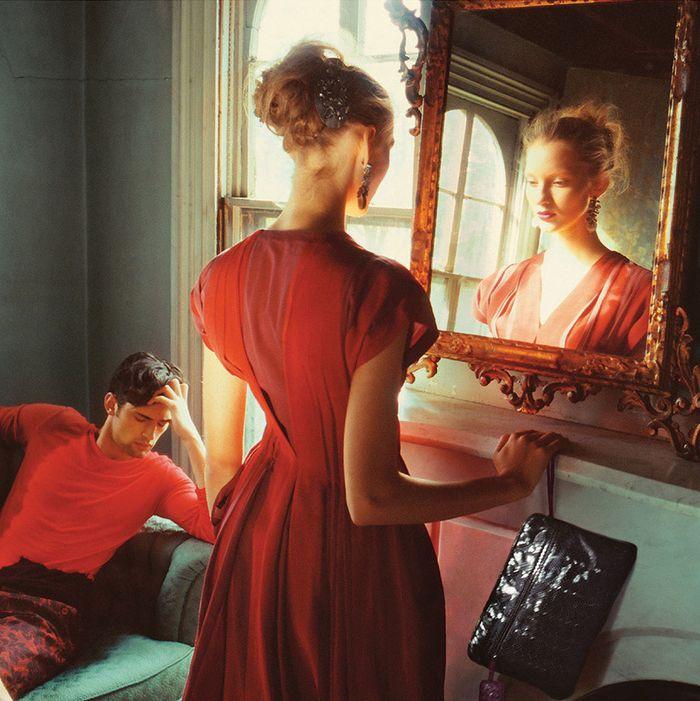 Bottega Veneta's spring/summer 2010 campaign, shot by Nan Goldin.