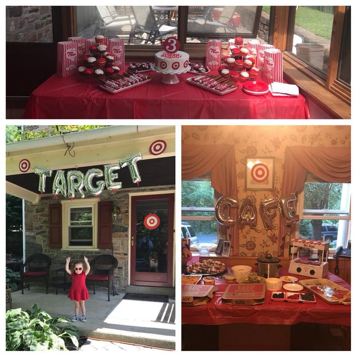 Little Girl Has TargetStoreThemed Birthday Party