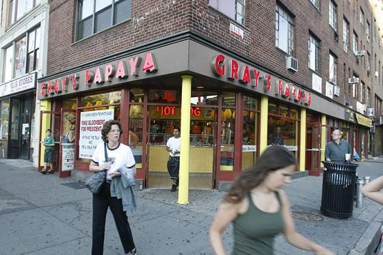 Gray's West Village corner operation was a neighborhood fixture.